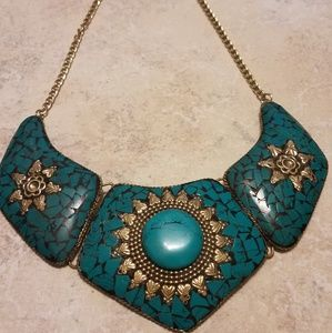 Beautiful Turquoise Necklace Set